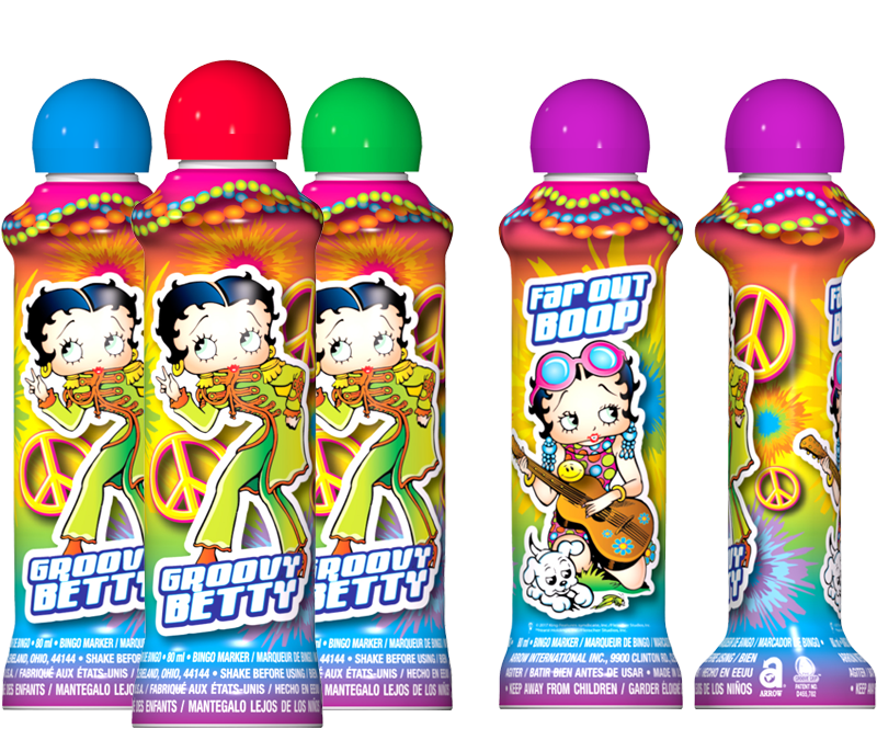 Groovy Betty Bingo Ink Marker Bingo Ink Markers