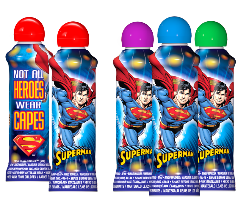 Superman Bingo Ink Marker