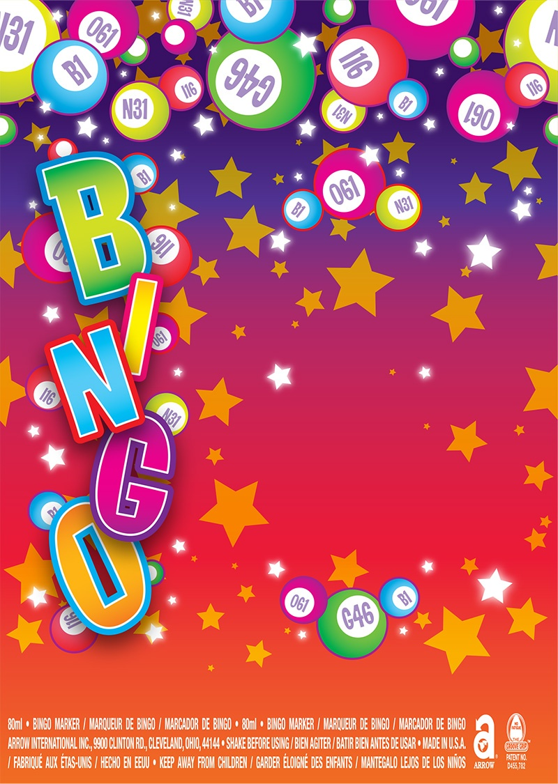 Bingo Balls / Bingo Letters and Stars