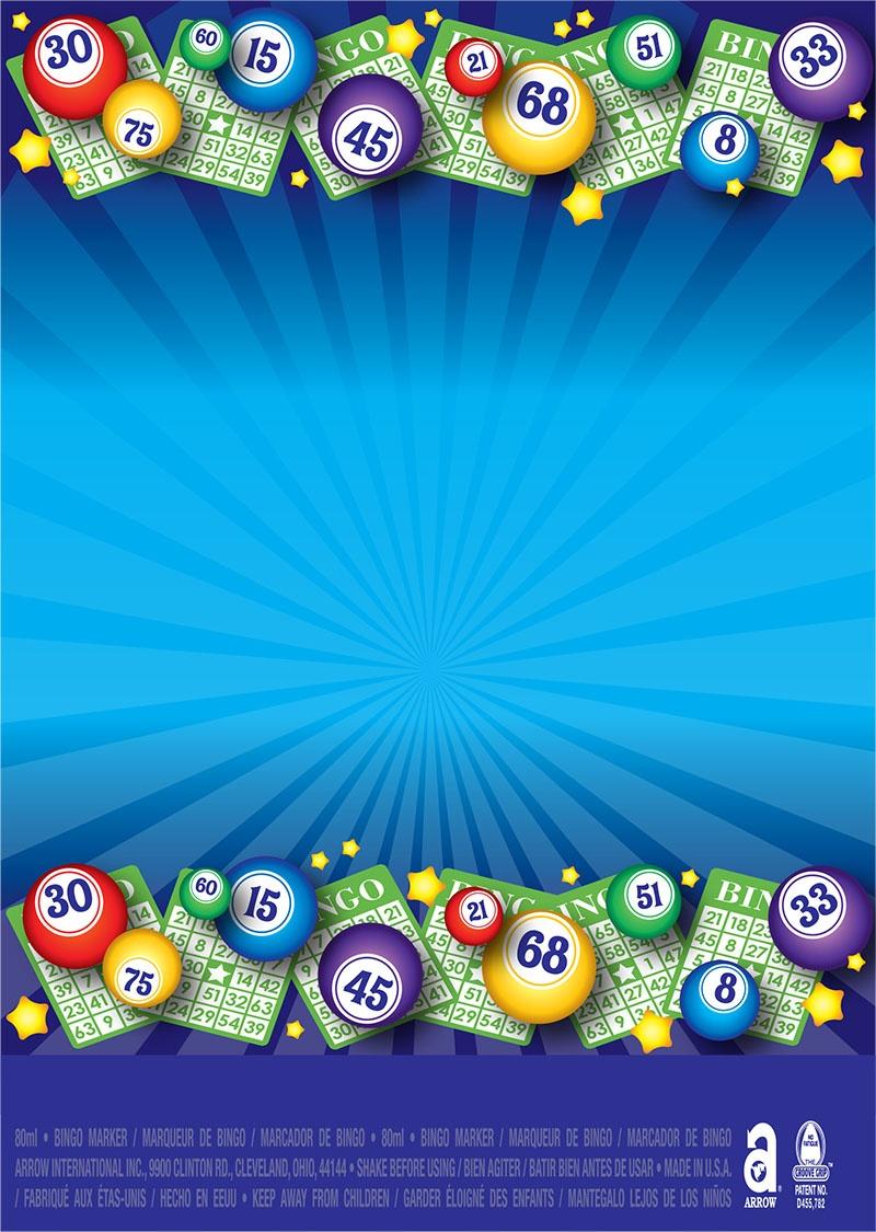 Bingo Balls / Blue Starburst