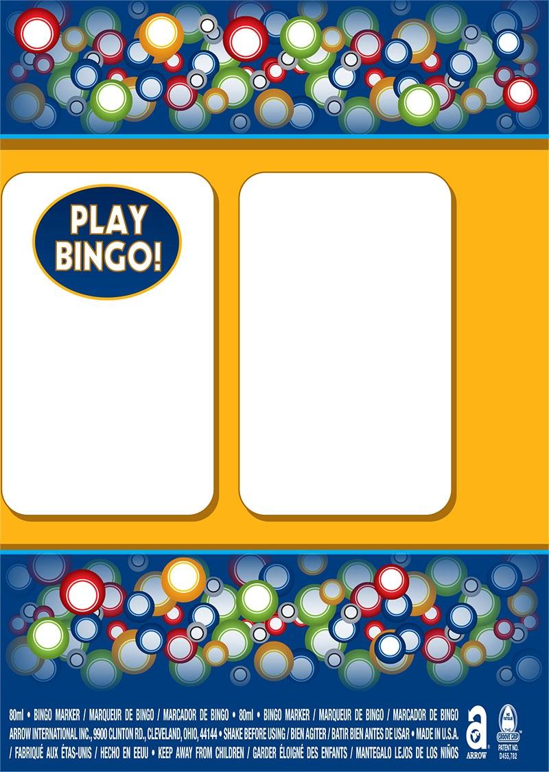 Bingo Balls / Play Bingo Labels