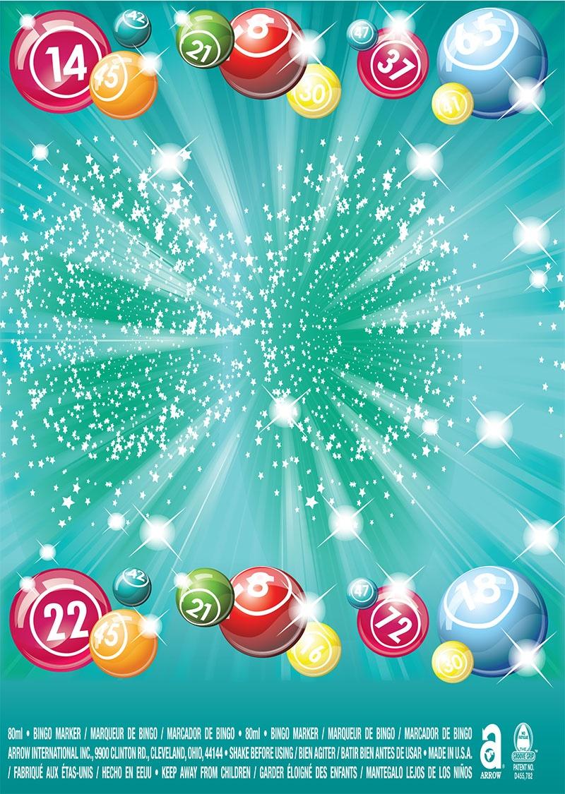 Bingo Balls / Round Starbursts