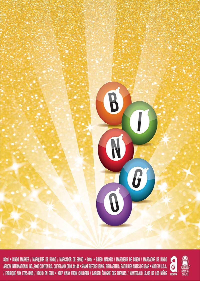 Bingo Balls / Glitter