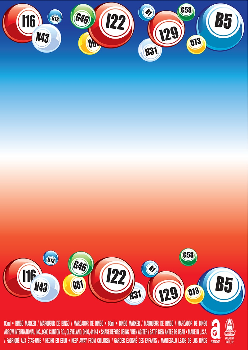 Bingo Balls / Patriotic