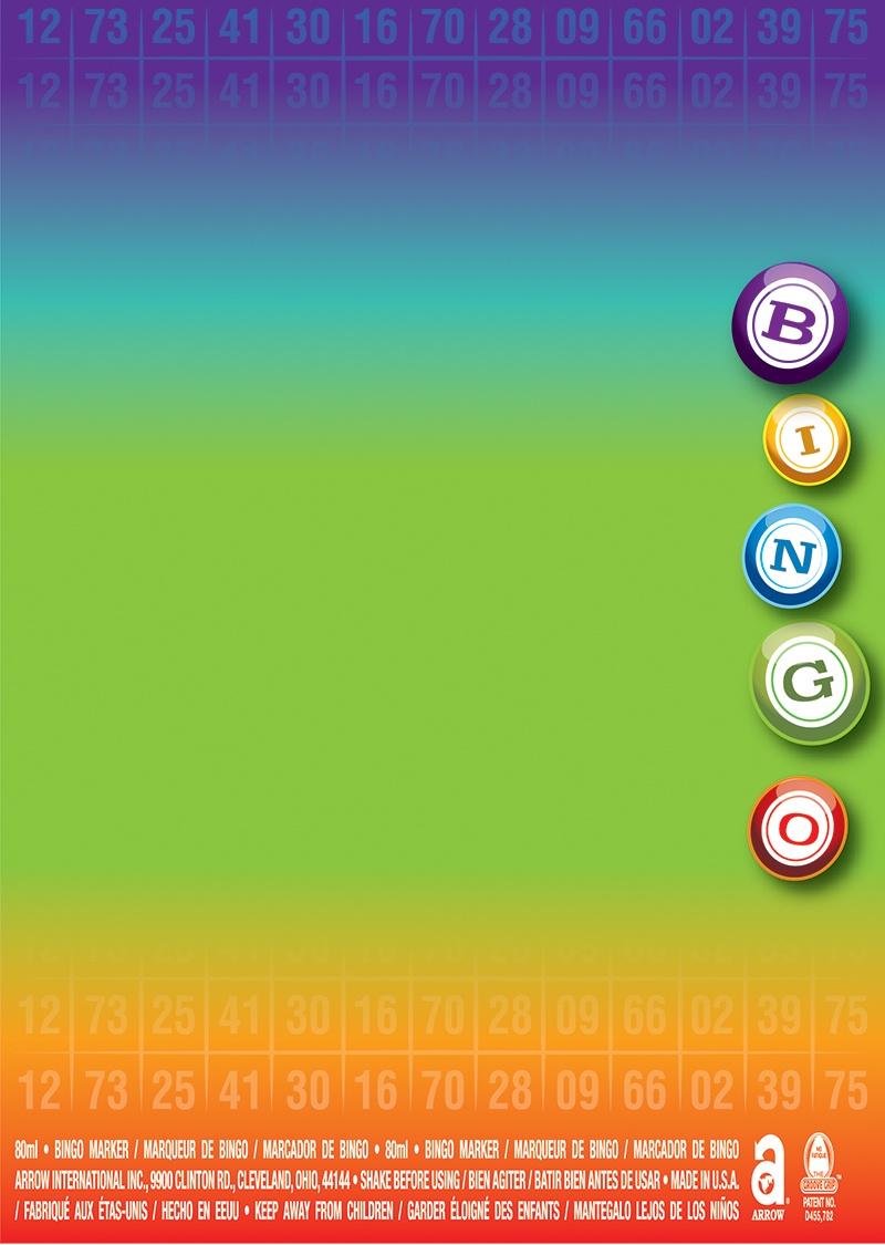 Rainbow Bingo Balls
