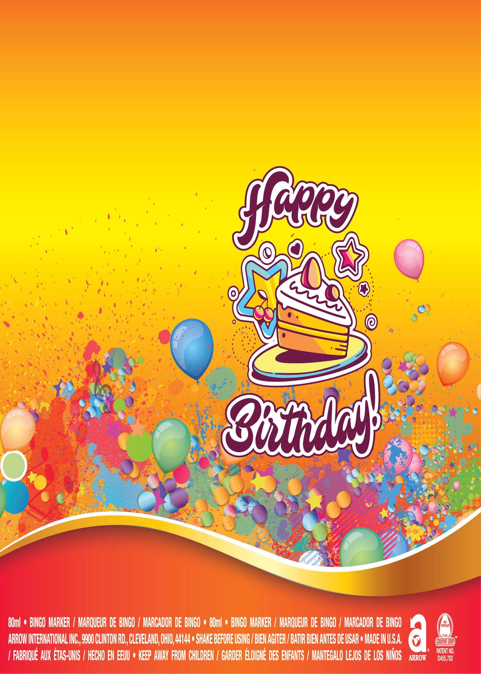 Happy Birthday / Cake