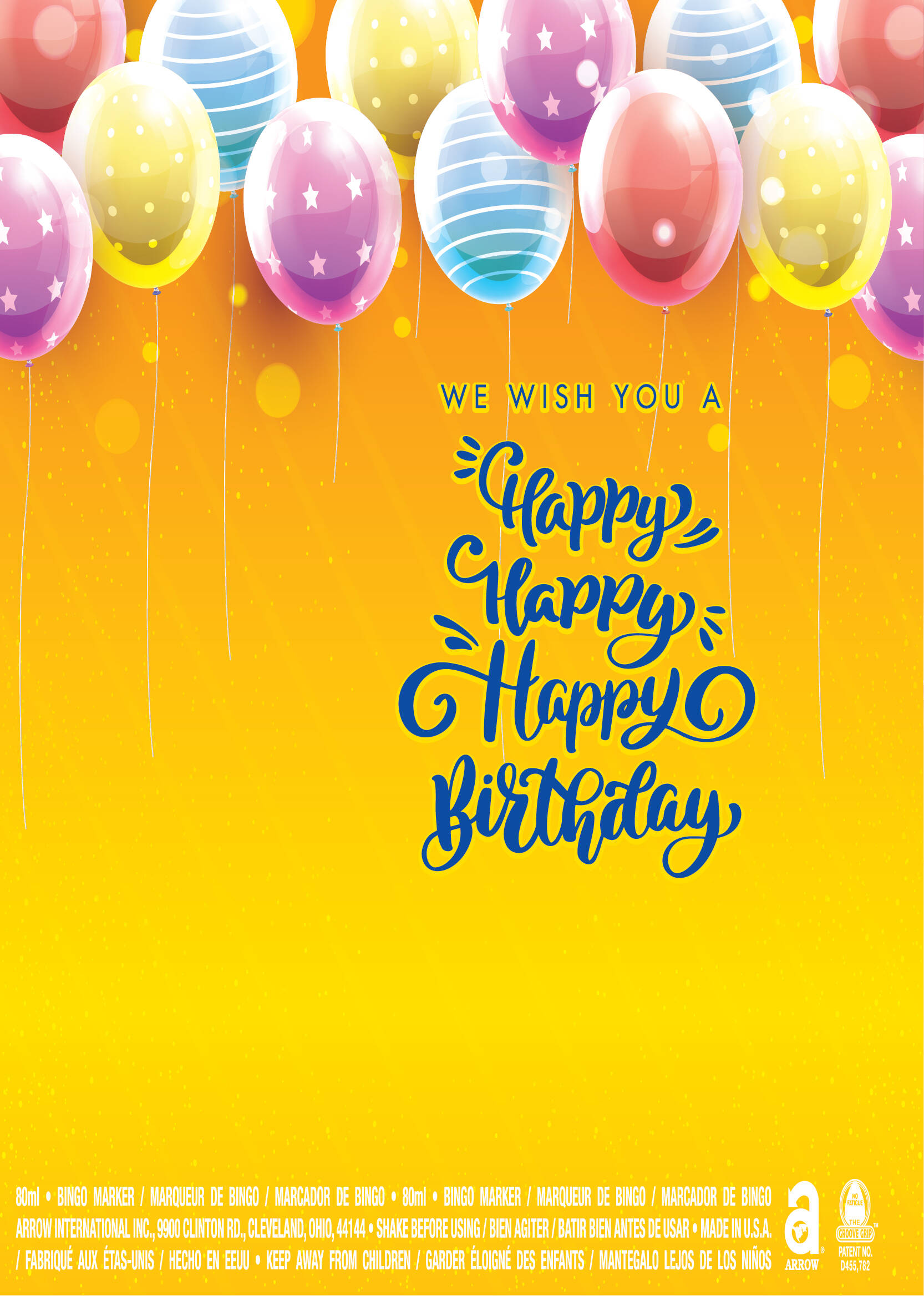 Happy Birthday / Balloons