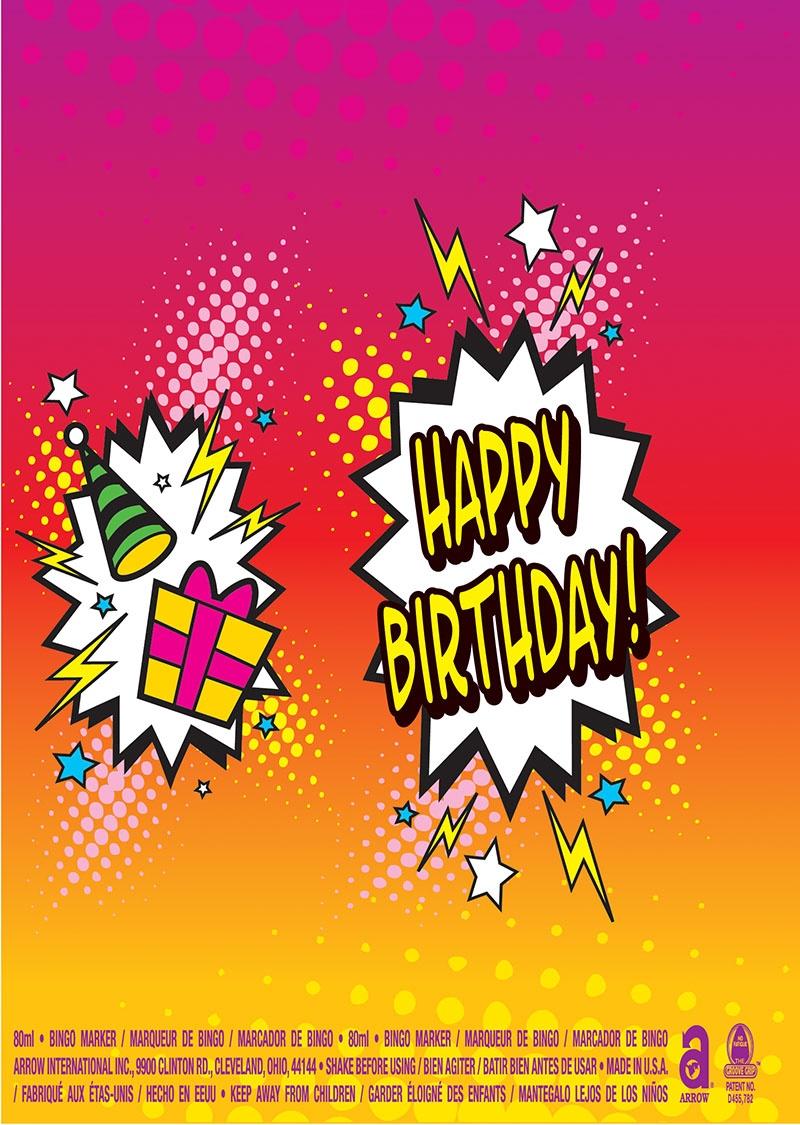 Happy Birthday Burst