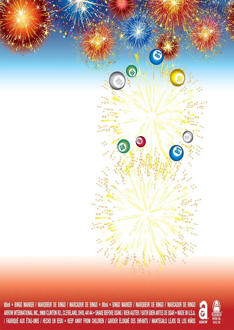Happy Birthday Fireworks