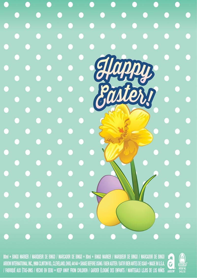 Happy Easter / Daffodil
