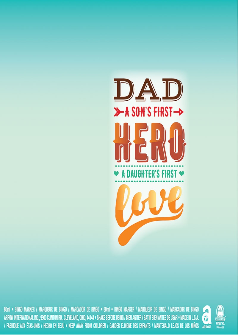 Happy Father's Day / Hero