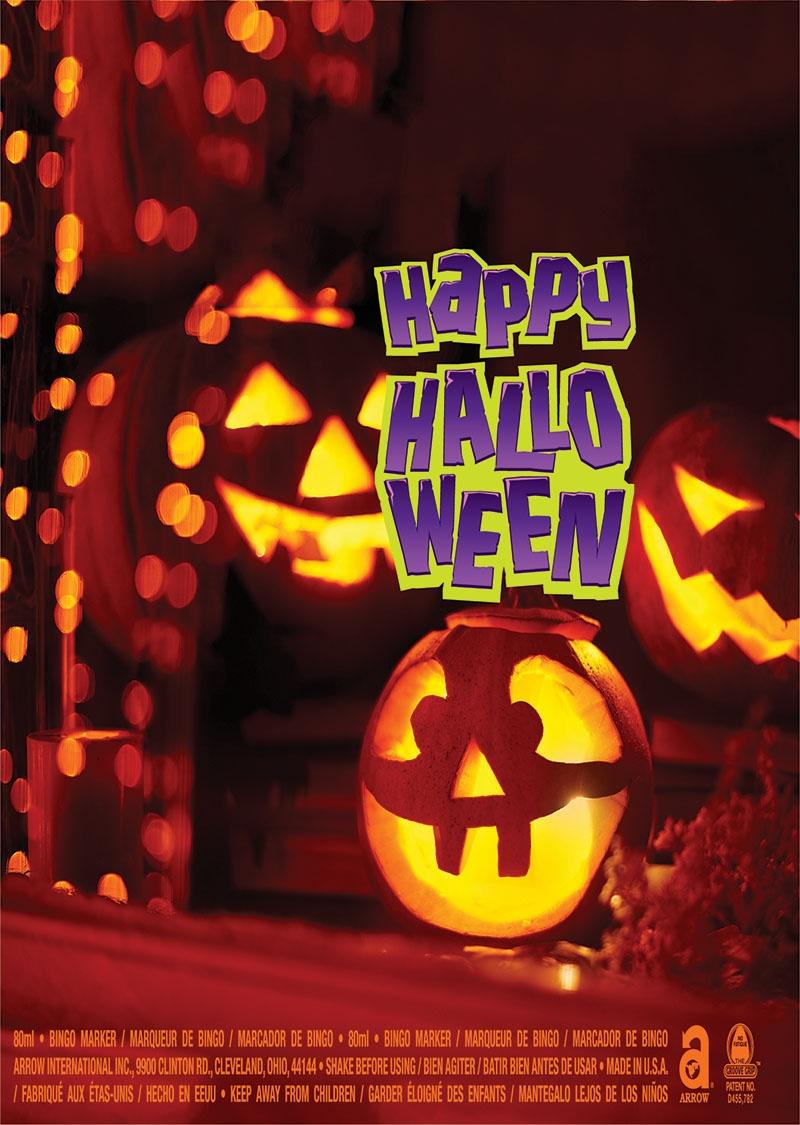 Happy Halloween / Jack O' Lantern