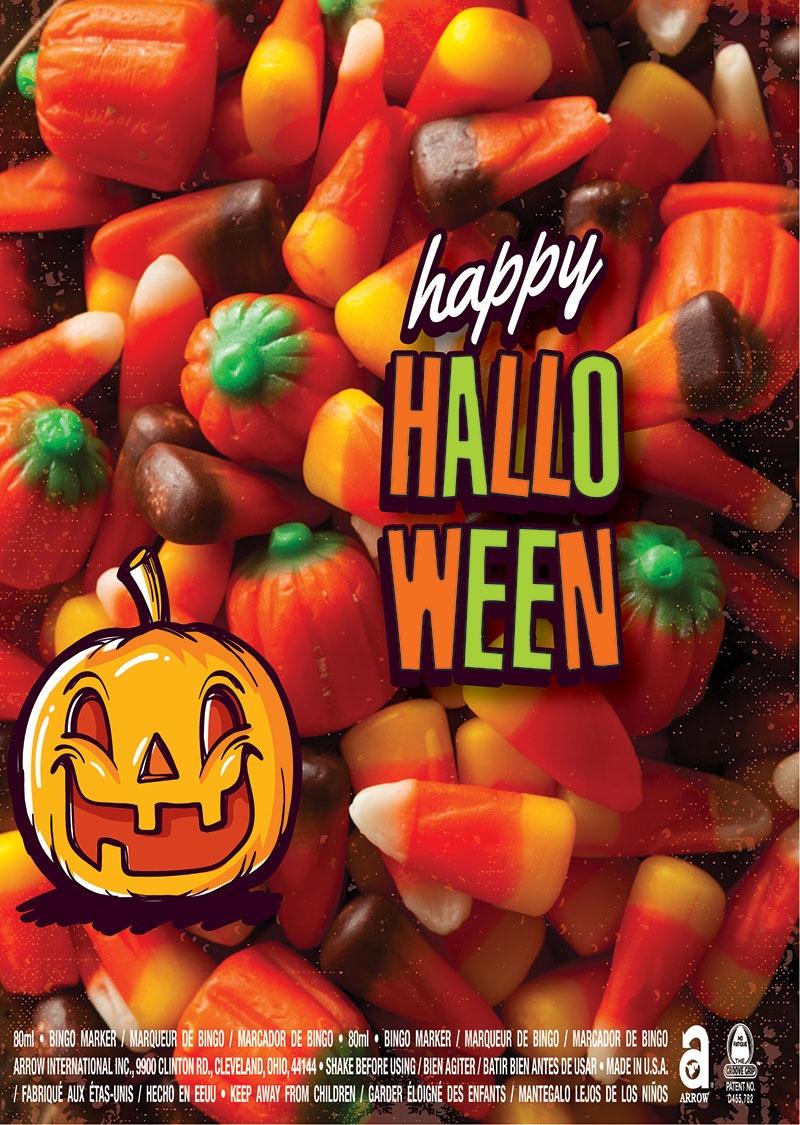 Happy Halloween / Candy Corn