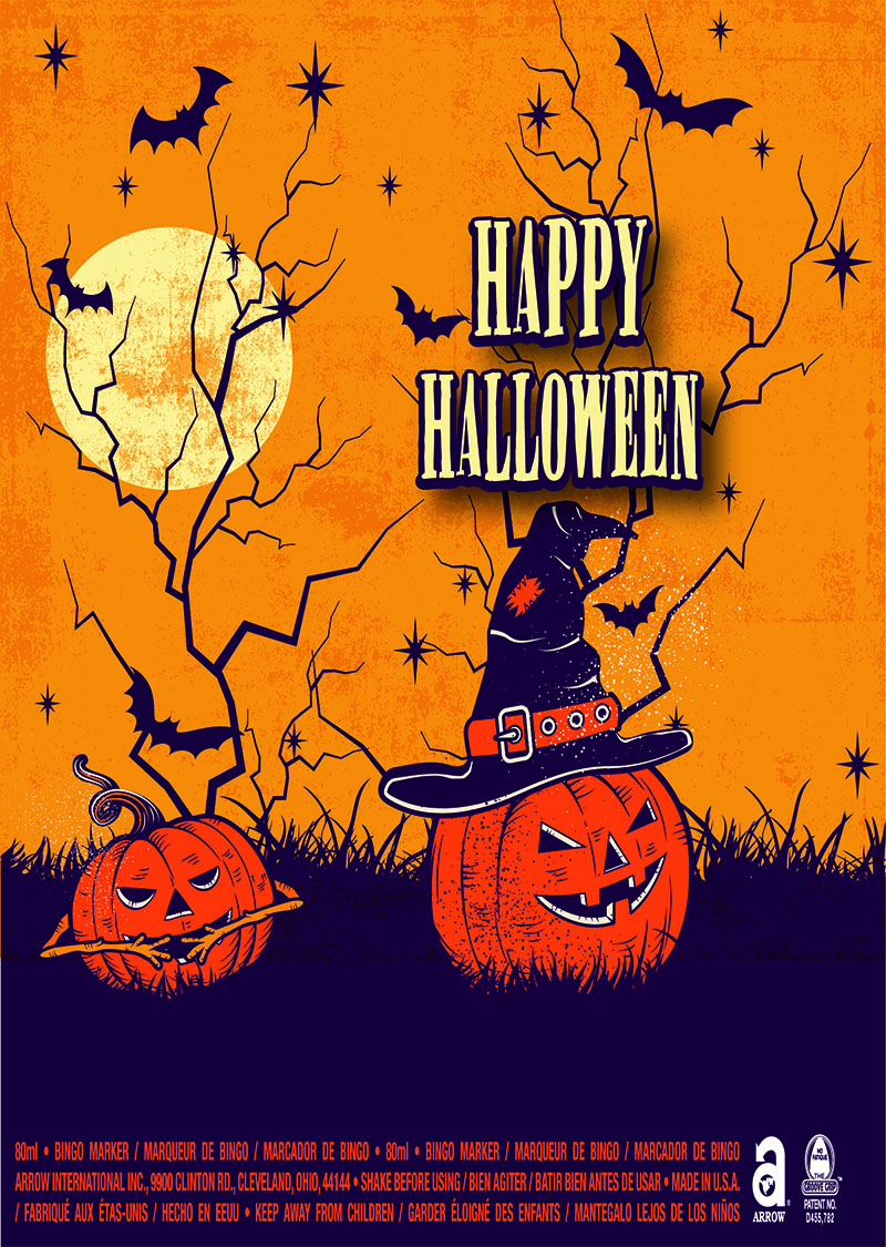 Happy Halloween / Vintage