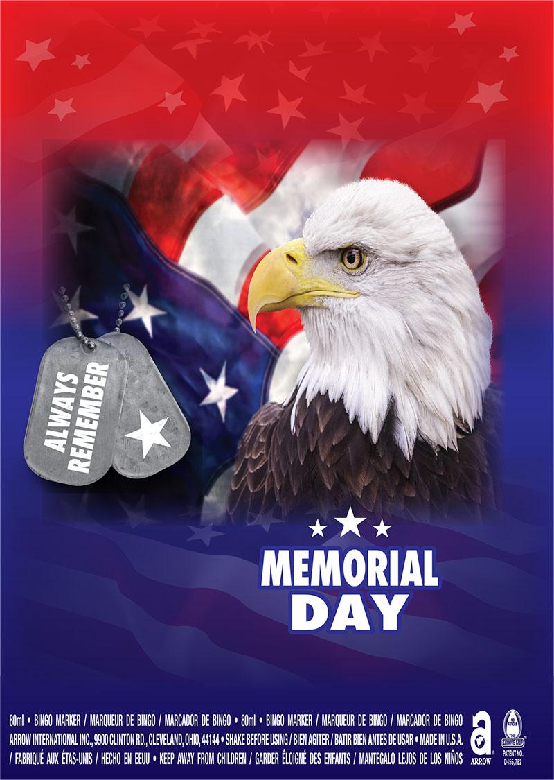 Memorial Day / Bald Eagle