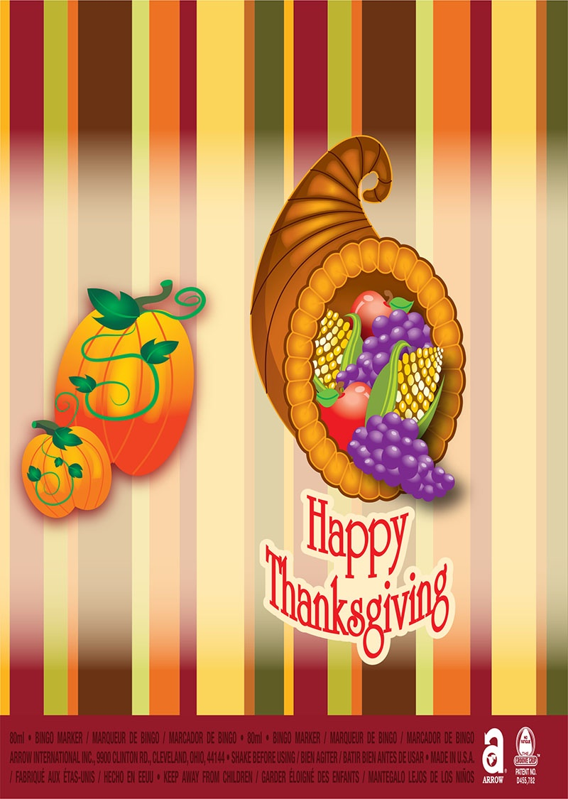 Happy Thanksgiving / Cornucopia