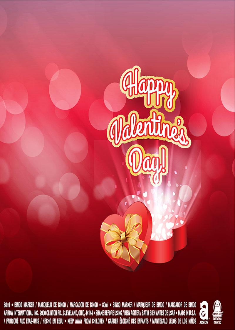 Happy Valentine's Day / Heart Box