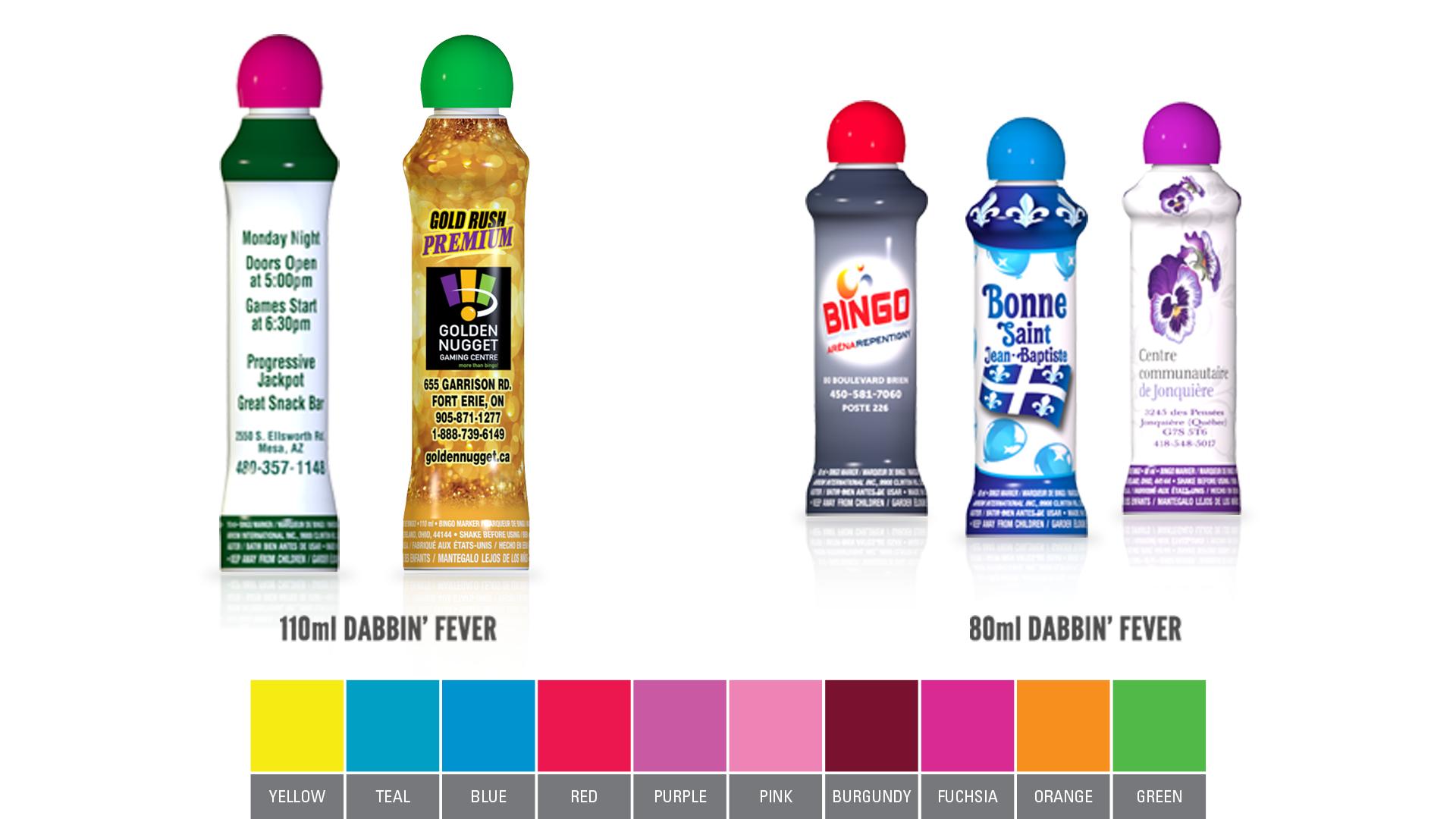 Dabbin Fever Bingo Ink