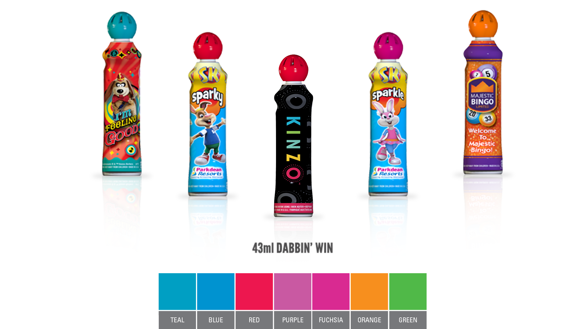 Dabbin Win Bingo Ink
