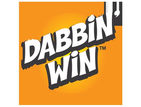Dabbin' Win Bingo Ink