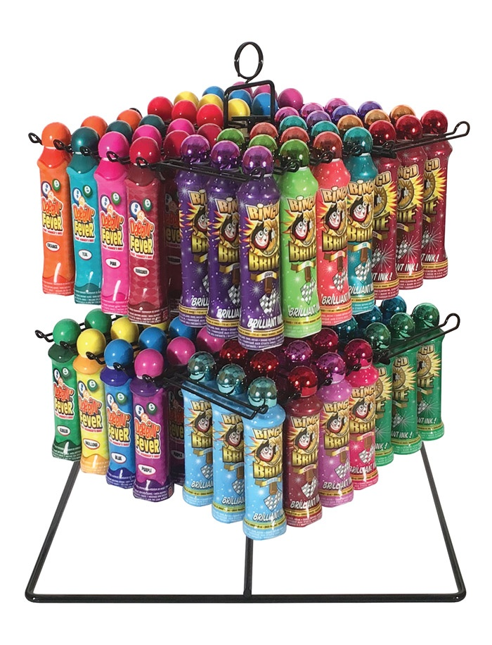 Bingo Ink Spinner Display