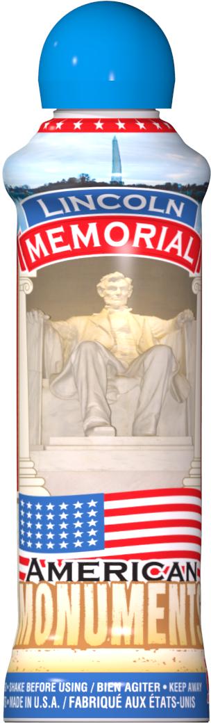 Lincoln Memorial Bingo Ink