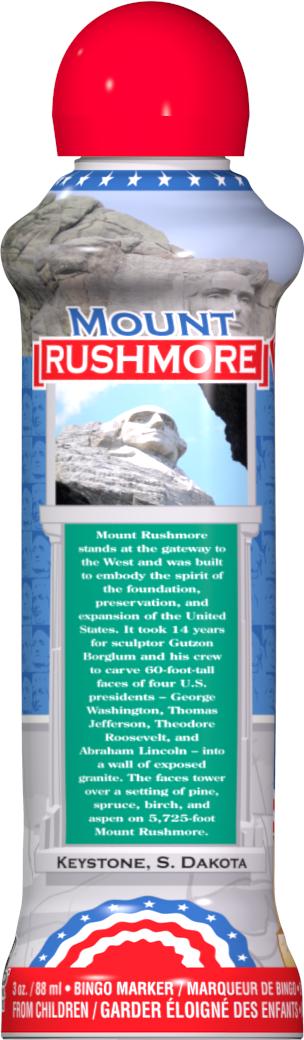 Mount Rushmore Bingo Ink