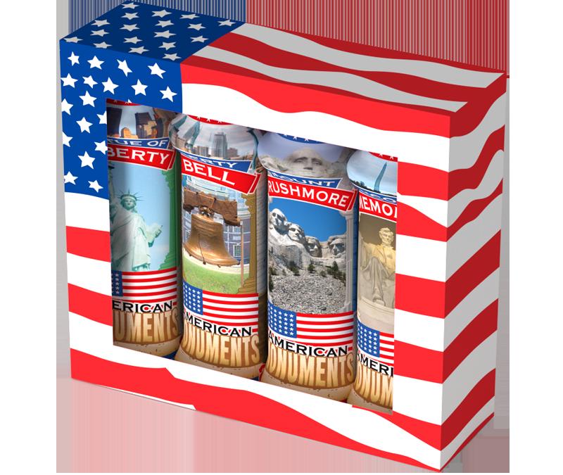 American Monuments Bingo Ink Gift Set