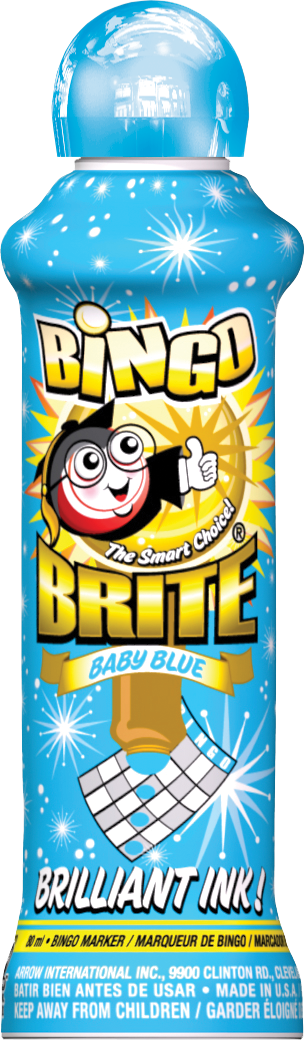 Baby Blue Bingo Brite Ink