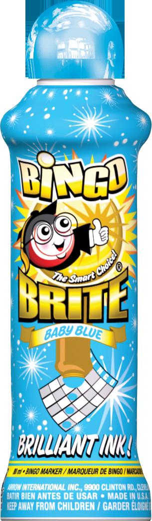 Baby Blue Bingo Brite Ink