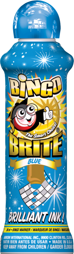 Blue Bingo Brite Ink