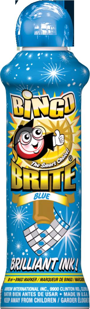 Blue Bingo Brite Ink