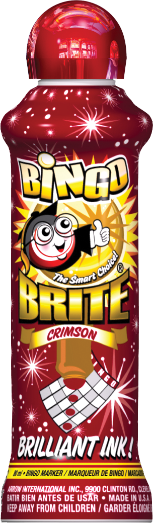 Crimson Bingo Brite Ink