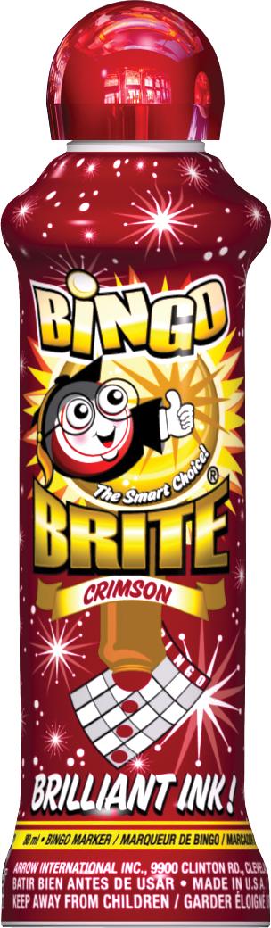 Crimson Bingo Brite Ink