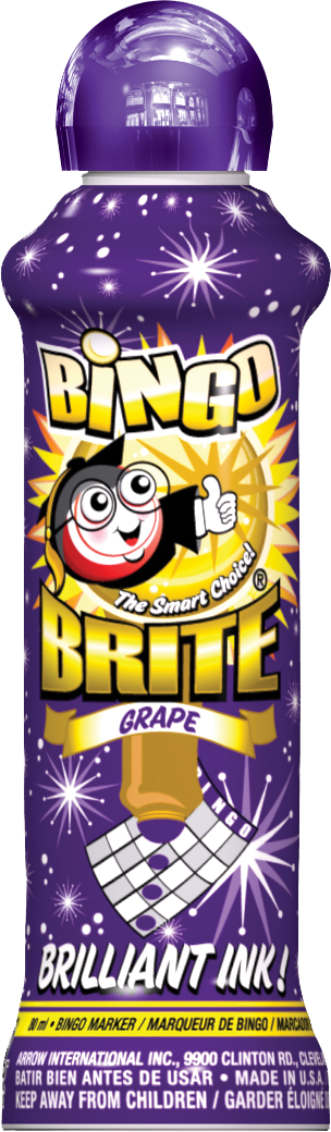 Grape Bingo Brite Ink