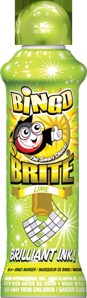 Lime Bingo Brite Ink