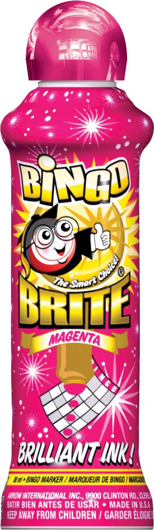 Magenta Bingo Brite Ink