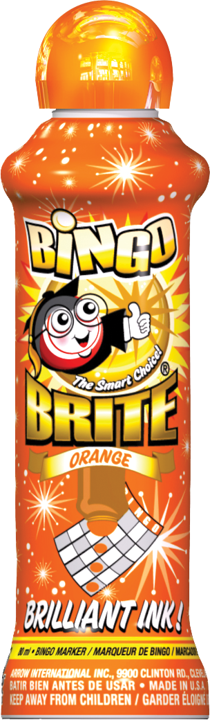 Orange Bingo Brite Ink