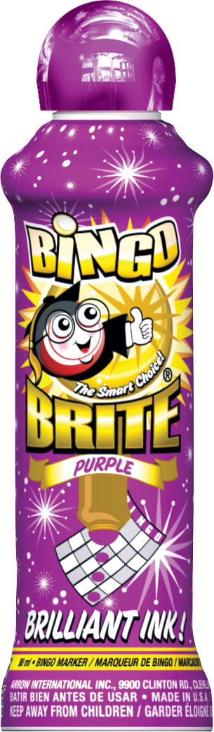 Purple Bingo Brite Ink