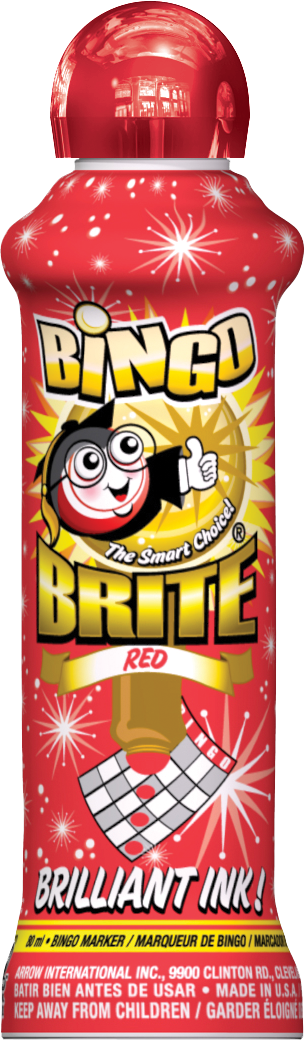 Red Bingo Brite Ink