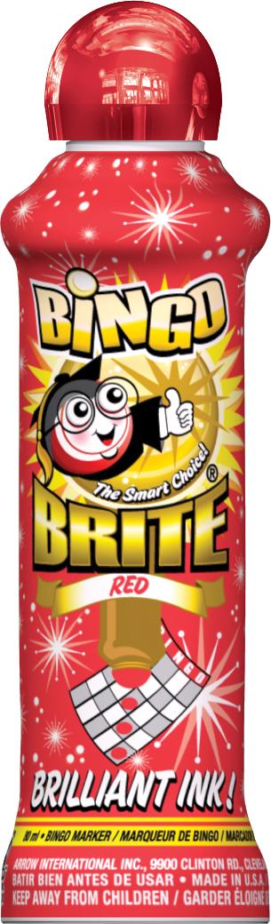 Red Bingo Brite Ink