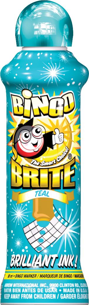 Teal Bingo Brite Ink