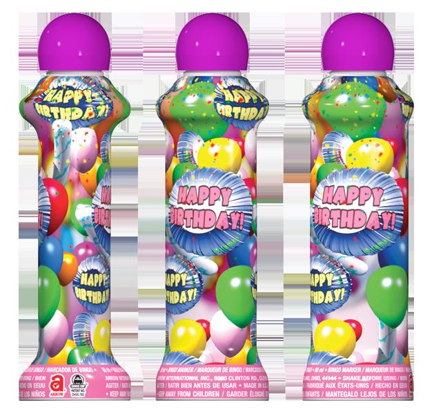 Happy Birthday Bingo Ink
