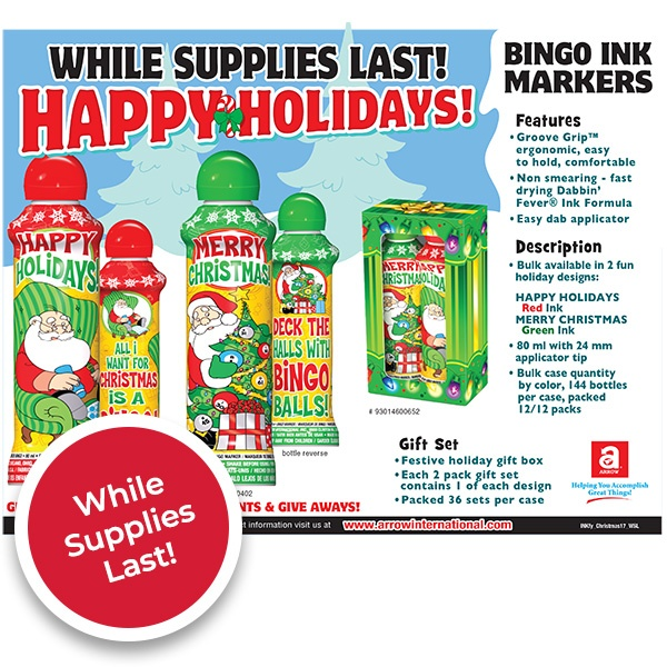 Happy Holidays - While Supplies Last