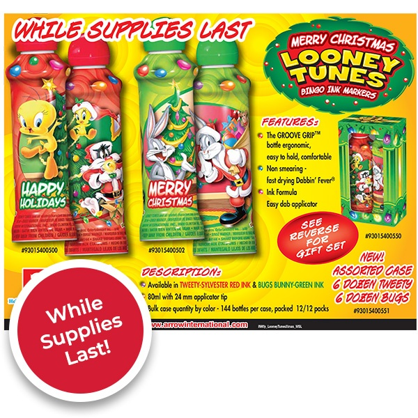 Looney Tunes Christmas - While Supplies Last