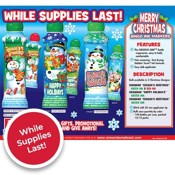 Seasons Greetings - While Supplies Last
