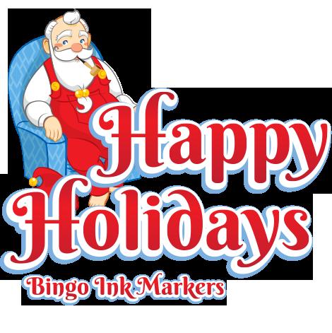 Christmas Bingo Ink Marker