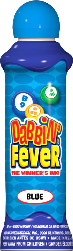 Blue Dabbin' Fever Ink