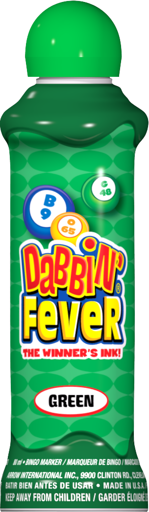 Green Dabbin' Fever Ink