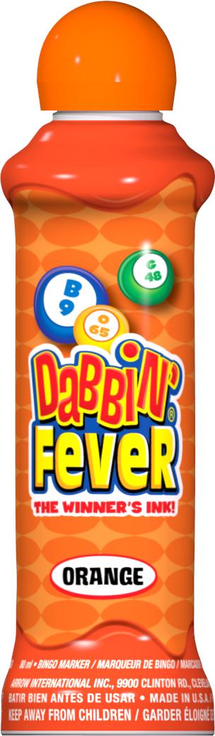 Orange Dabbin' Fever Ink